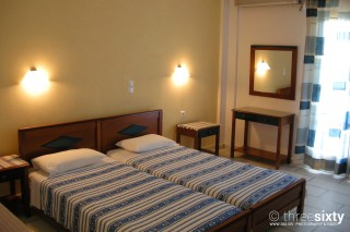 accommodation orkos view bed