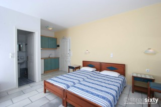 accommodation orkos view cozy bedroom