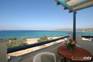 accommodation orkos view sea view balcony