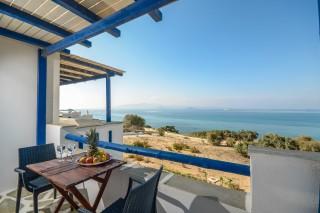 apartments orkos view aegean sea view