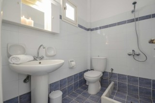 apartments orkos view bathroom