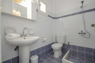 apartments orkos view bathroom