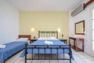 apartments orkos view bed