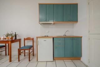 apartments orkos view kitchen