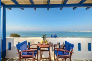 naxos sea view apartments orkos view